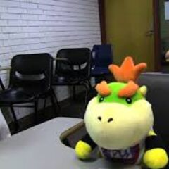 Bowser Junior and Chef Pee Pee in summer school