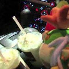 Bowser Junior and some milkshakes