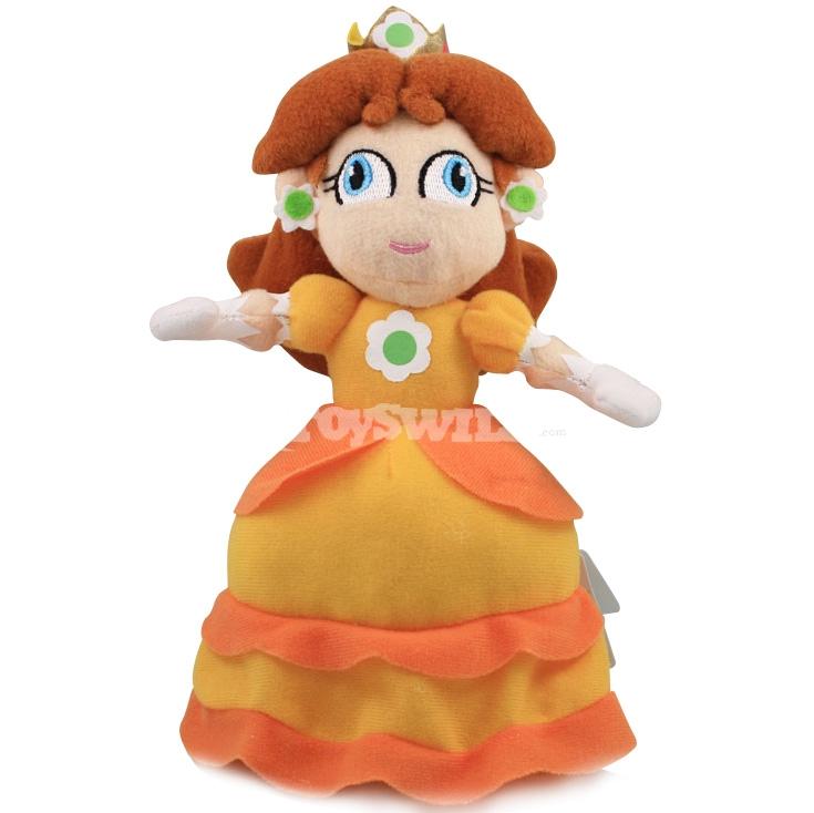 Image Super Mario Princess Daisy Plush Dolls 23cm Car