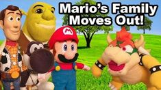 SML Movie Mario's Family Moves Out!