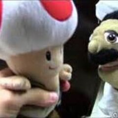 Chef Pee Pee with Toad