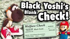 SML Movie Black Yoshi's Blank Check!