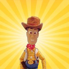 thumb|Woody's star burst background