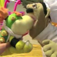 Chef Pee Pee yelling at Bowser junior