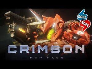 Halo 4 Crimson Maps logo
