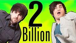 Holy Crap! 2 Billion Views!