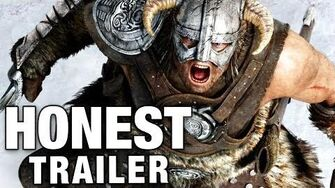 ELDER SCROLLS SKYRIM (Honest Game Trailers)