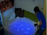 Anthony in Ian's room