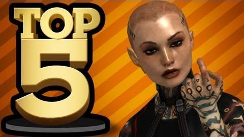 TOP 5 BALD BADASSES