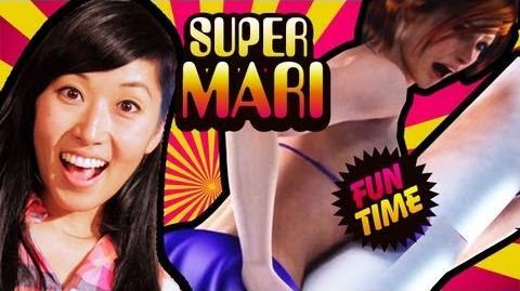 STRIPPERS ON ROCKETS WITH SPONGEBOB (Super Mari Fun Time)