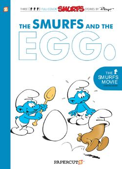 Smurfs And The Egg