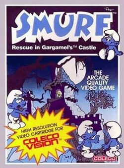 Smurf Rescue ColecoVision