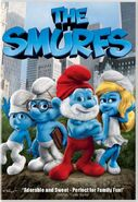 Smurfs Movie DVD