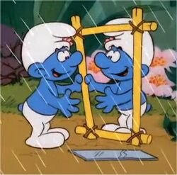 Reflection smurf