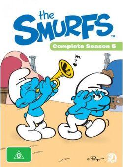 SmurfsCompleteSeason5DVDcover