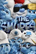Smurfs latest poster