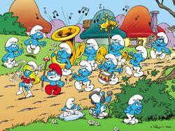 Smurf Parade
