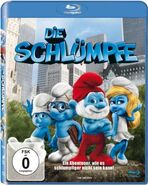 Die Schlumpfe Blu-ray cover