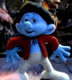 Painter Dancing Smurfs 2 Movie
