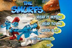 Smurfs Movie Storybook App