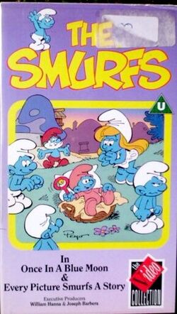 SmurfsOnceInABlueMoonVHScover