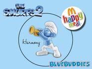 The Smurfs 2 happy meal harmony
