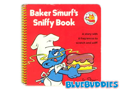 Smurfs Books Baker Smurf Sniffy Book