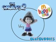The Smurfs 2 happy meal vexy