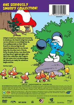 Smurfs 3-Pack Of Fun DVD back cover