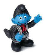 Sweepy Smurf Figure