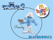 The Smurfs 2 happy meal grouchy