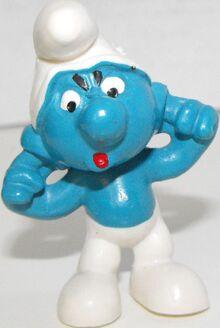 Earache Smurf figure