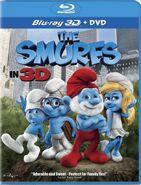 Smurfs Movie Bluray 3D