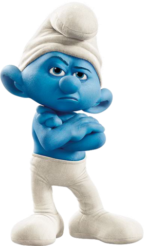 File:Movie Grouchy Smurf.png