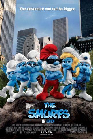 File:Smurfs 2011 poster.jpg