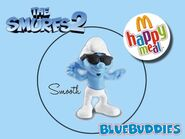 The Smurfs 2 happy meal smooth