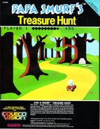 Papa Smurf Treasure Hunt CV