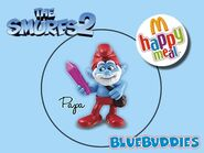 The Smurfs 2 happy meal papa