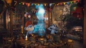 Papa Smurf's Lab Movie