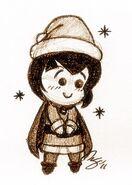 Chibi Christmas Johan - Smurfs