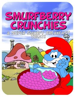 Smurfberry Crunchies