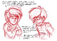 Josten Trivia Concept Sketches 1