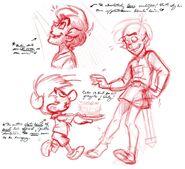 Josten Trivia Concept Sketches 4