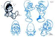 Original Moxette Expression Doodles
