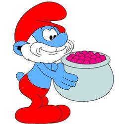 Pot Of Smurfberries