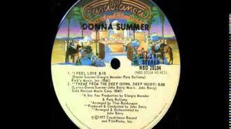 """Donna Summer I Feel Love Original 8 minute 12"""" version 1977"""