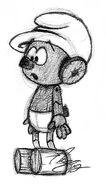 Clockwork Sketch - Smurfs