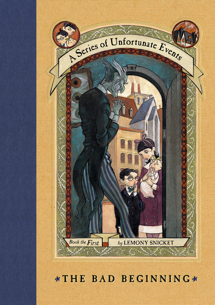 Image result for series of unfortunate events book cover