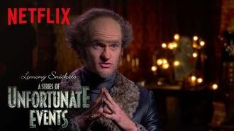 Lemony Snicket's A Series of Unfortunate Events An Unfortunate Actor on Acting Netflix
