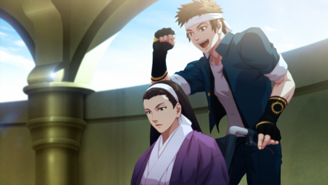 File:KOFXIII-Chizuru+Shingo.png